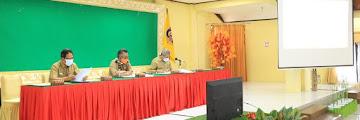 Rapat Koordinasi Persiapan Penyelenggaraan Rapat Kerja Komwil V APEKSI Regional Kalimantan Tahun 2021