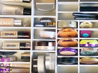 MALM Alex IKEA Schminktisch Schublade Make Up Organizer Aufbewahrung Hack DIY