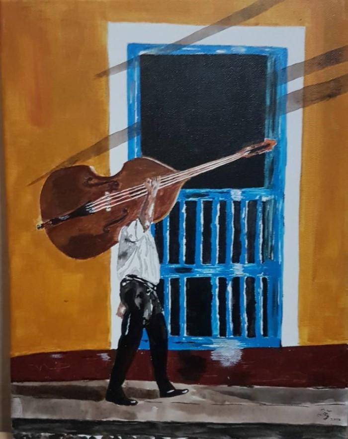 Сингапурский художник. Prabhu Sathyamoorthy