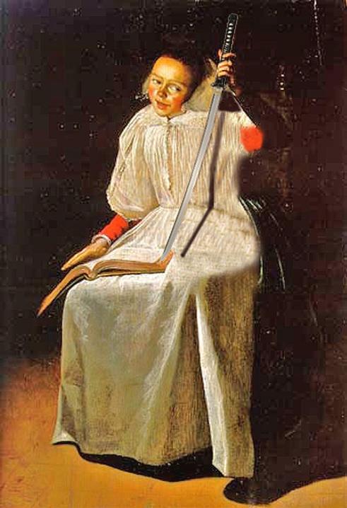Judith Jans Leyster Девушка с лютней