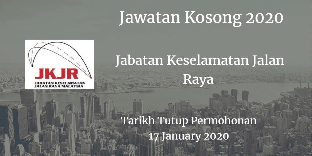 Jawatan Kosong JKJR 19 January 2020