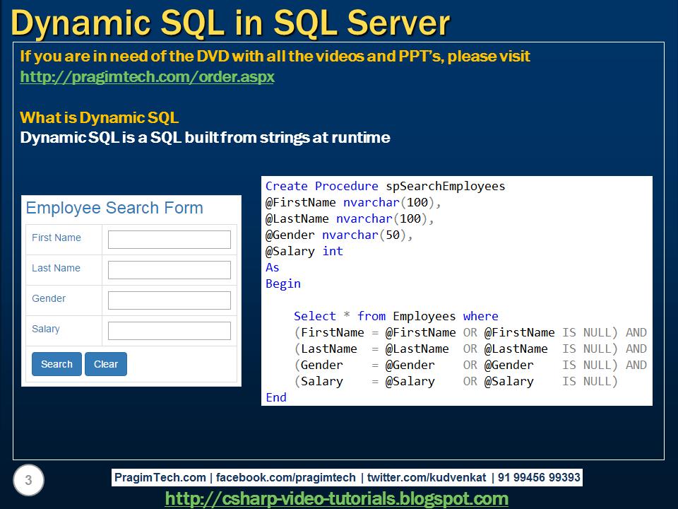 Learning SQL Server