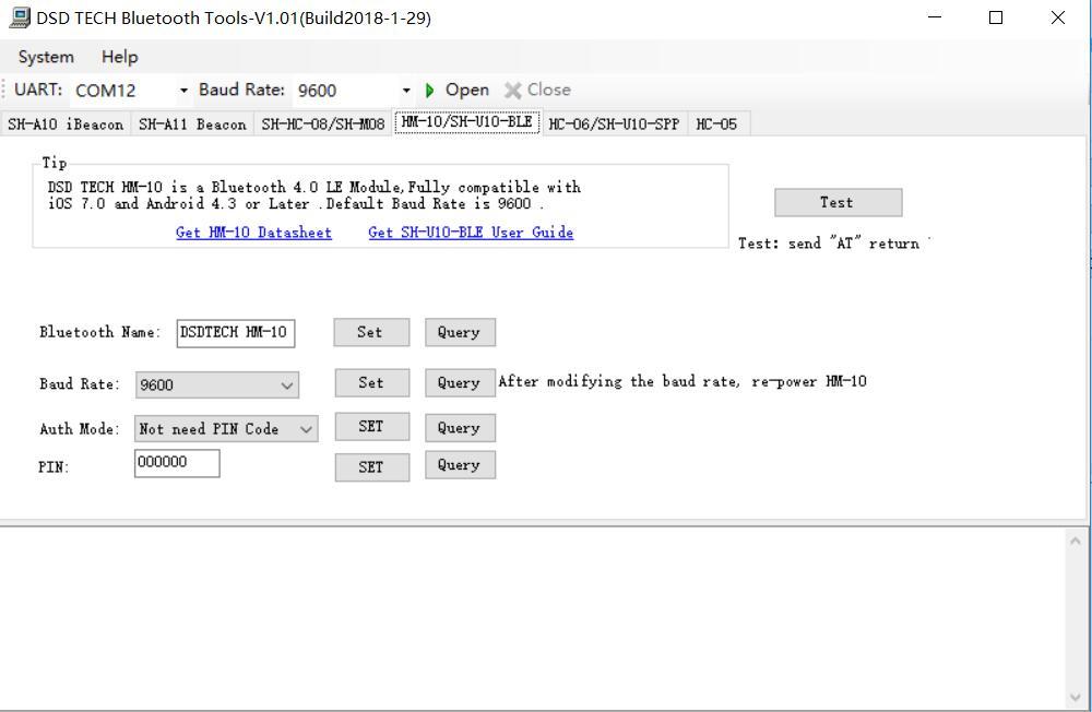 DSD TECH Official Website: DSD TECH SH-U10-BLE Bluetooth 4 0