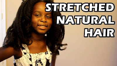 Stretching Natural Hair with Magnetic Rollers