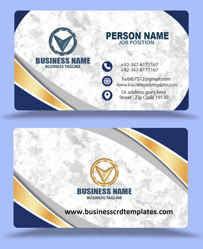 white background business card design free download eps psd