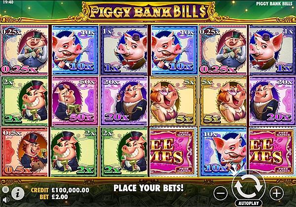 Main Gratis Slot Indonesia - Piggy Bank Bills Pragmatic Play