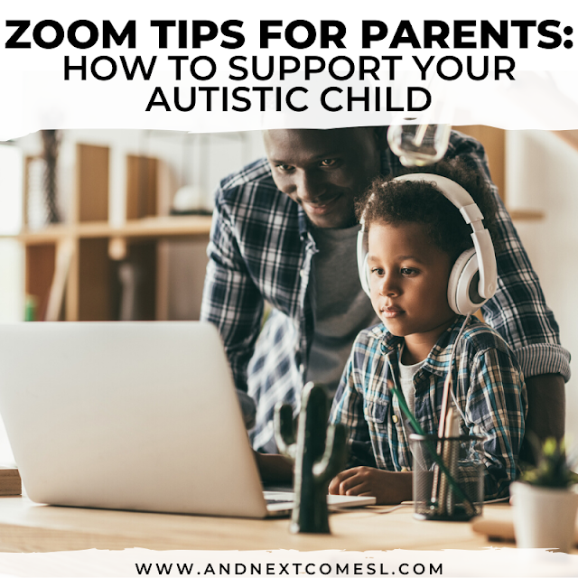 Zoom tips for parents of autistic children