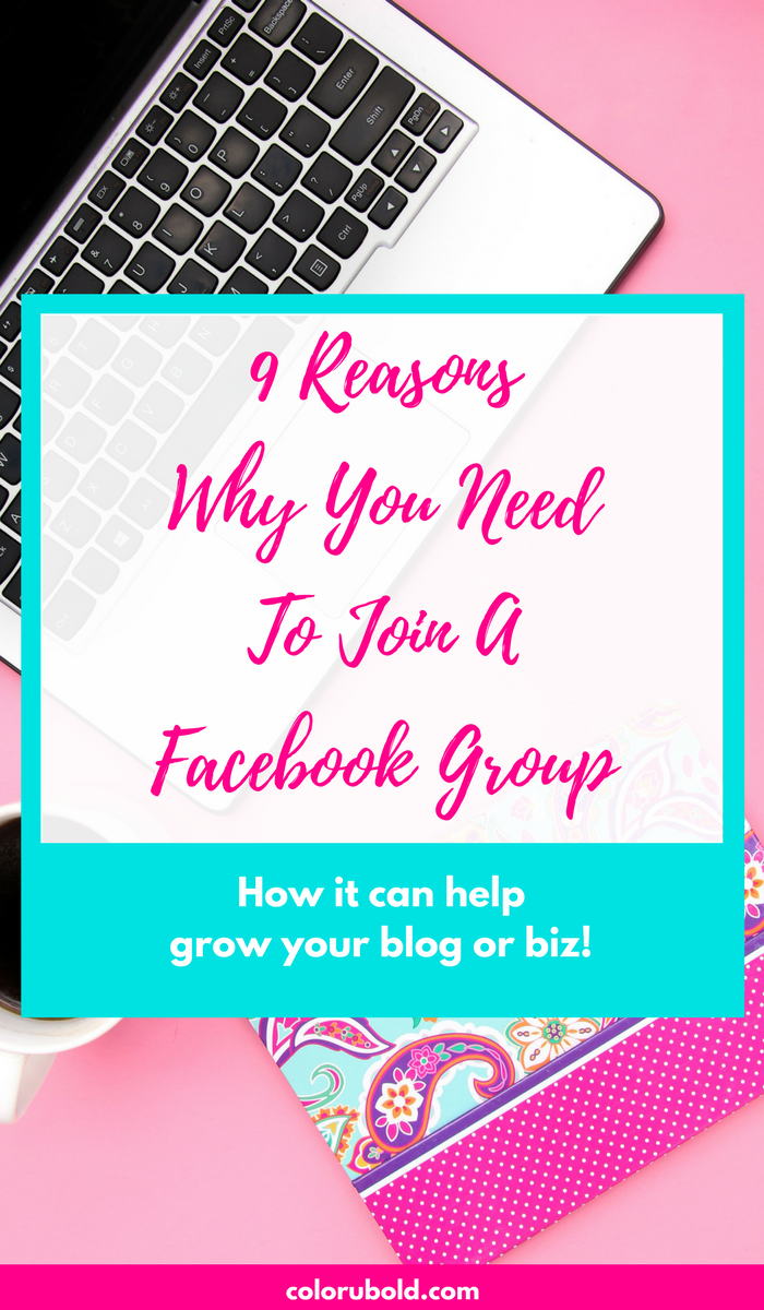 Facebook groups is a great way to connect with other like-minded individuals that share your points of views. They are one of the best ways to grow your blog or business. Here are solid reasons why you need to join a facebook group now!