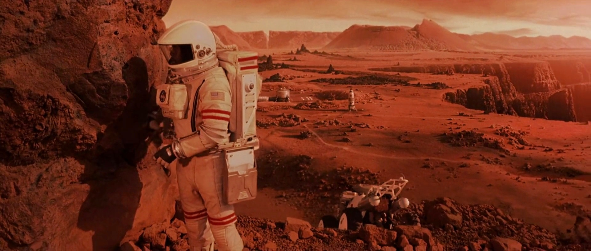HD images from Mission to Mars 2000 movie human Mars