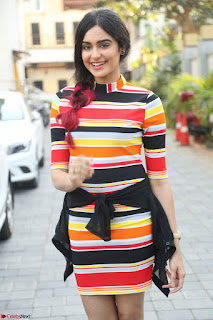 Adha Sharma in a Cute Colorful Jumpsuit Styled By Manasi Aggarwal Promoting movie Commando 2 (8).JPG