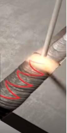 طريقة اللحام بـ ماكينة لحام القوس  الكهربي