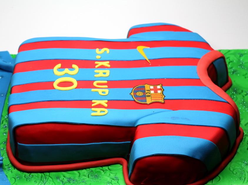 London Patisserie Fc Barcelona Birthday Cake London