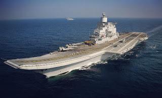 Kapal Induk INS Vikramaditya