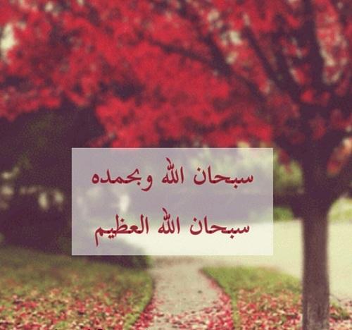 صور سبحان الله Subhan Allah خلفيات سبحان الله وبحمده