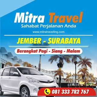 TIKET TRAVEL JEMBER SURABAYA MURAH