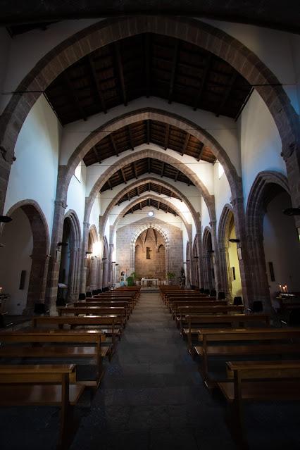 Iglesias-Interno della chiesa di San Francesco
