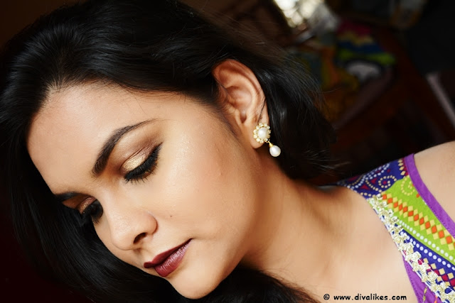 Diwali Makeup Look