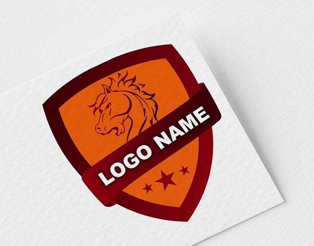 Horse Shield Logo Design