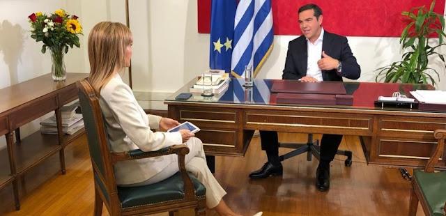 Αλέξης Τσίπρας: «Δεν θα αφήσουμε τον Μητσοτάκη σε χλωρό κλαρί μέσα και έξω από τη Βουλή» – VIDEO