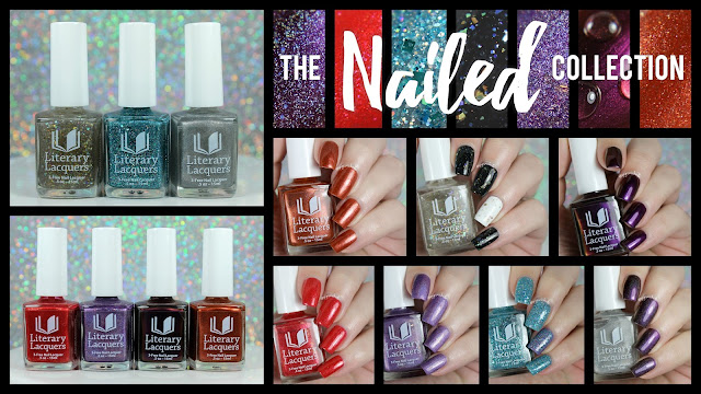 Literary Lacquers Nailed Collection