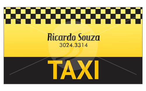 Cartão de Visita Taxistas