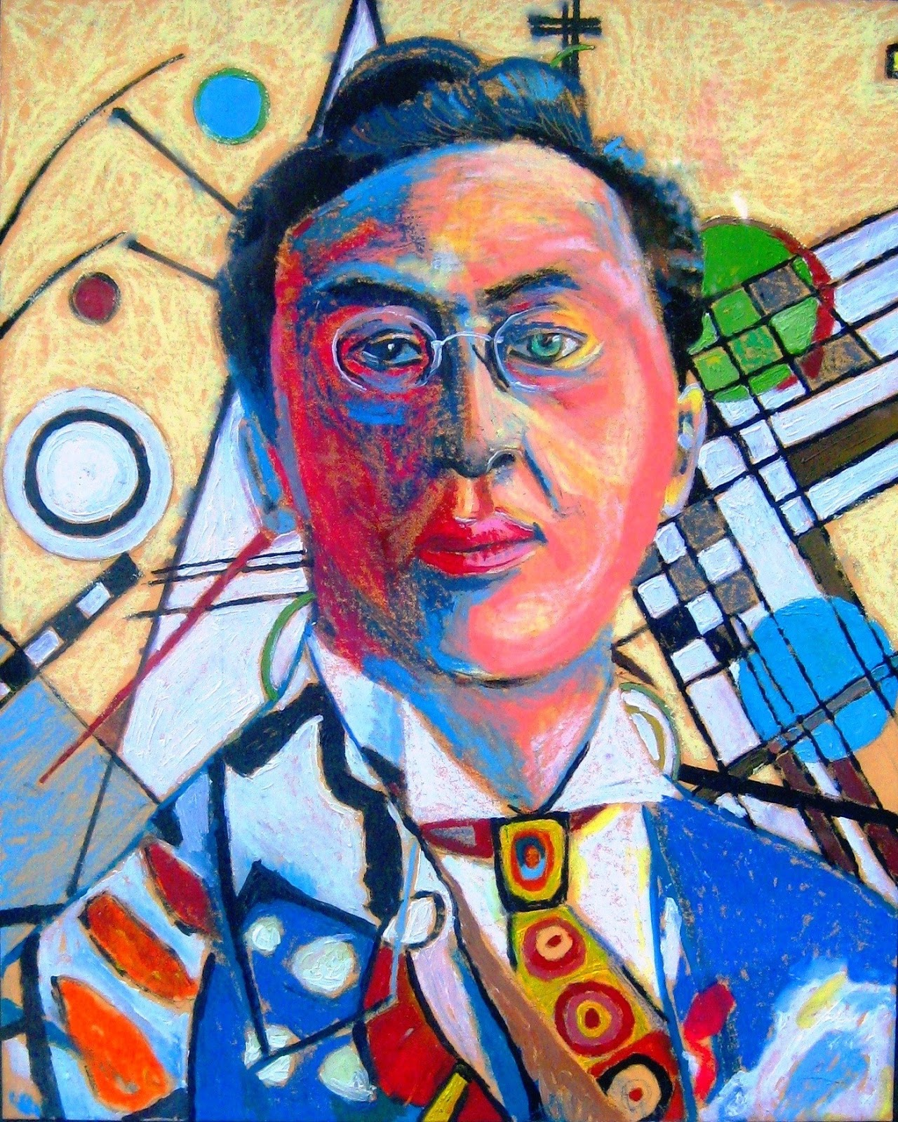 Todd Kruse's Art Blog: Wassily Kandinsky in oil pastels