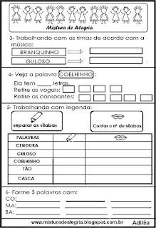 Avaliação de português 1º bimestre