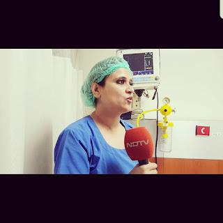 Dr Shivani Sachdev Gour Interview on NDTV