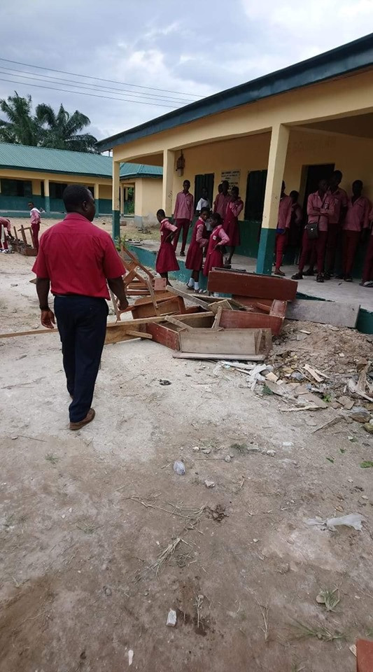 Boy Nabbed For Burning Students Books And School Properties