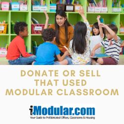 California portable modular classroom donations