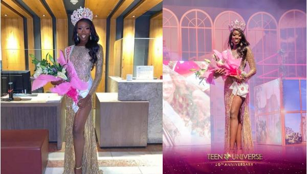 Curazao es Miss Teen Universe 2021
