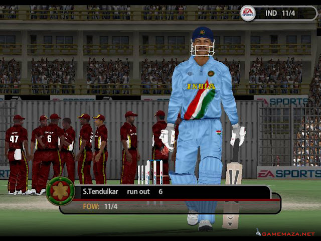 EA Cricket 2005 Gameplay Screenshot 4