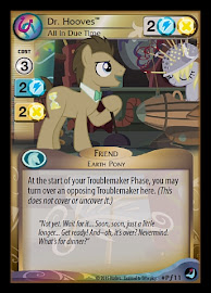 My Little Pony Dr. Hooves, All in Due Time High Magic CCG Card