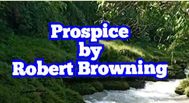 robert browning summary