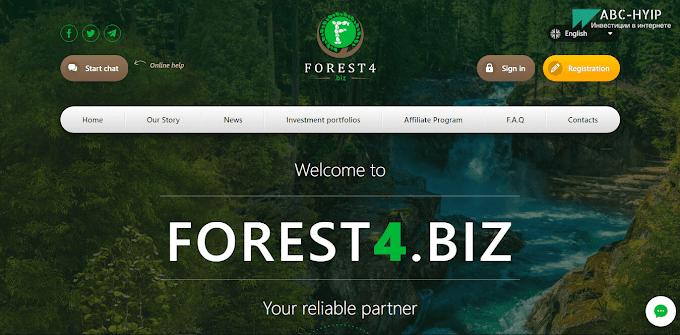 Forest4 - обзор и отзывы о хайп проекте НЕ ПЛАТИТ!