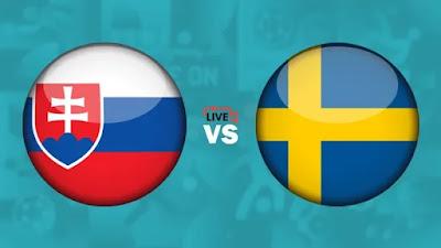 مشاهدة مباراة السويد ضد سلوفاكيا 18-06-2021 بث مباشر في بطولة اليورو