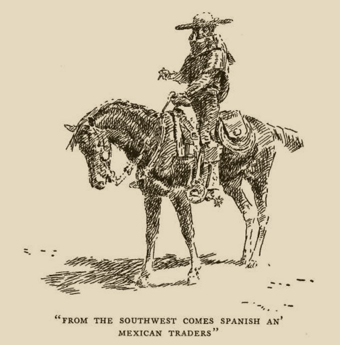 Dariusz Caballeros: Charles M. Russell And Cow-puncher Horse