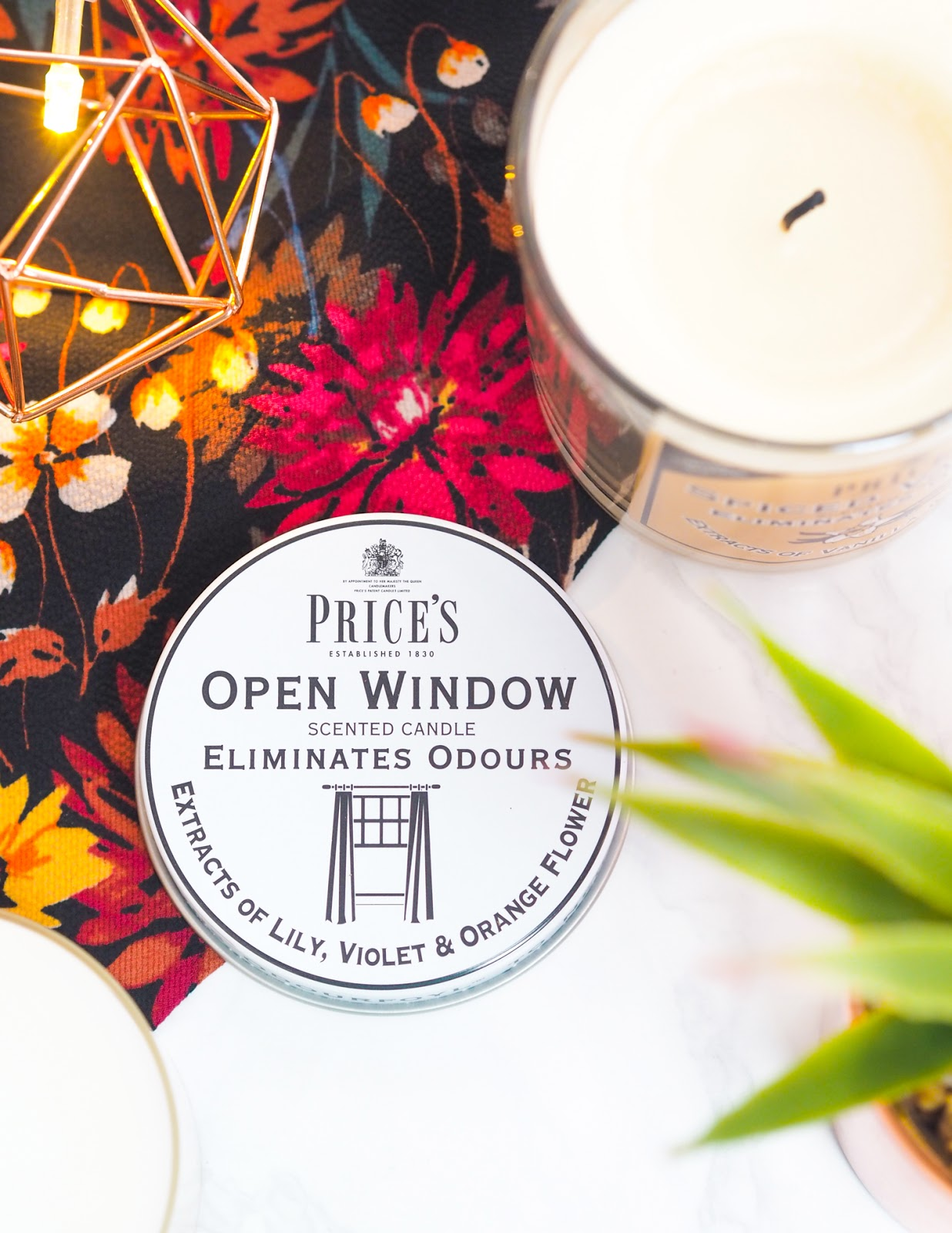 Price's Candles Open Window Fresh Air Candle