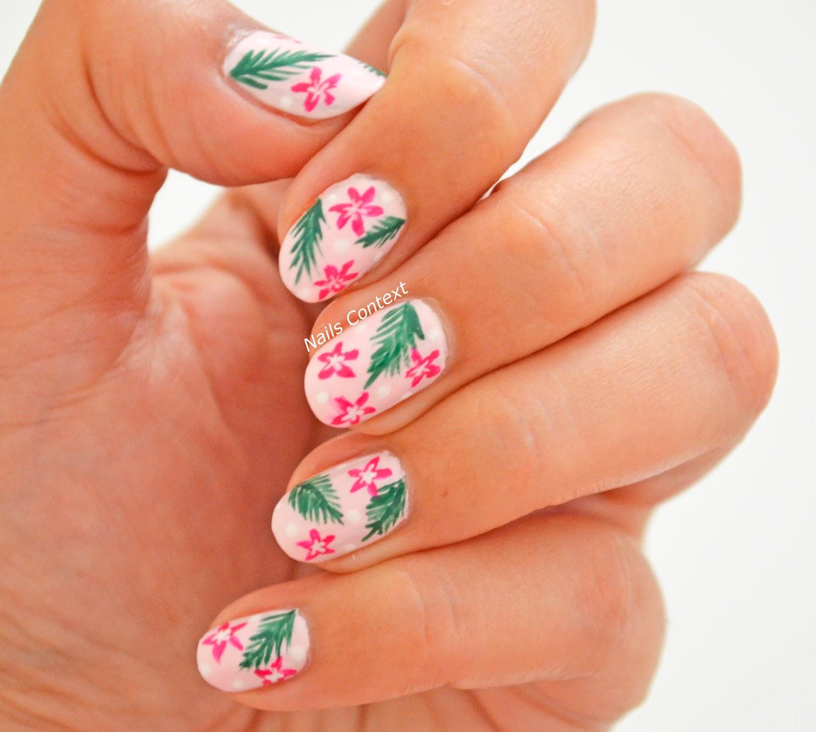 Nails Context: Tropical Nails