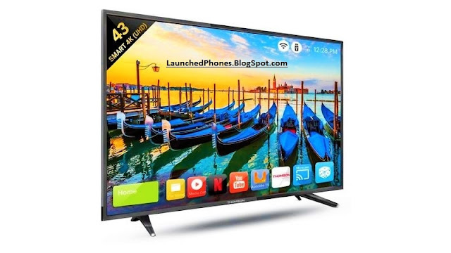 Thomson launched their Three Television inward Hindustan Thomson Televisions are launched
