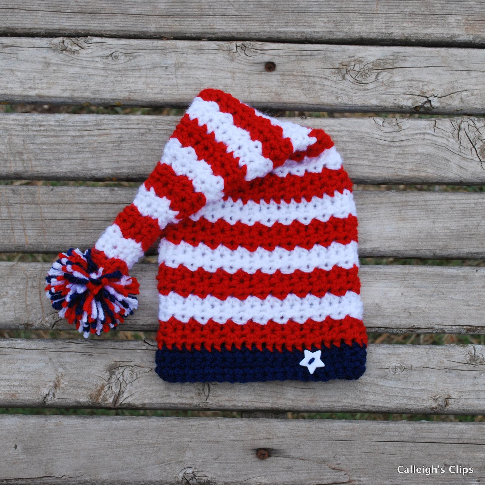 Crochet Long Stocking Cap Crochet For Beginners