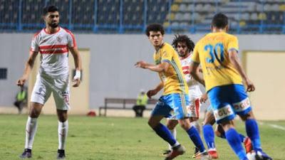 ملخص واهداف مباراة الزمالك والاسماعيلي (2-1) الدوري المصري