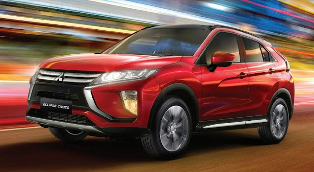 Mitsubishi Eclipse Cross Indonesia 2019 Merah