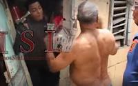 hombre en una persecución en Moca