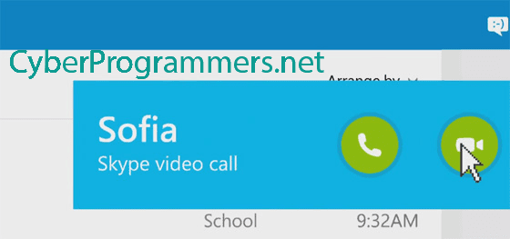 Skype call in Browser
