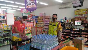 Bripka Iwan Handayana, Binmas Polsek Baleendah Polresta Bandung Ingatkan Operasional Alfamart
