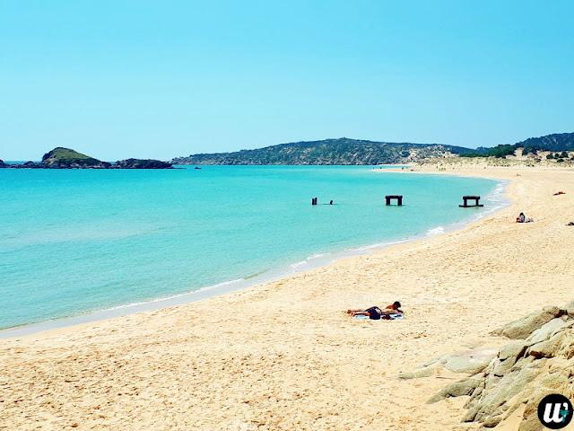 Campana Dune beach, Chia | Sardinia, Italy | wayamaya