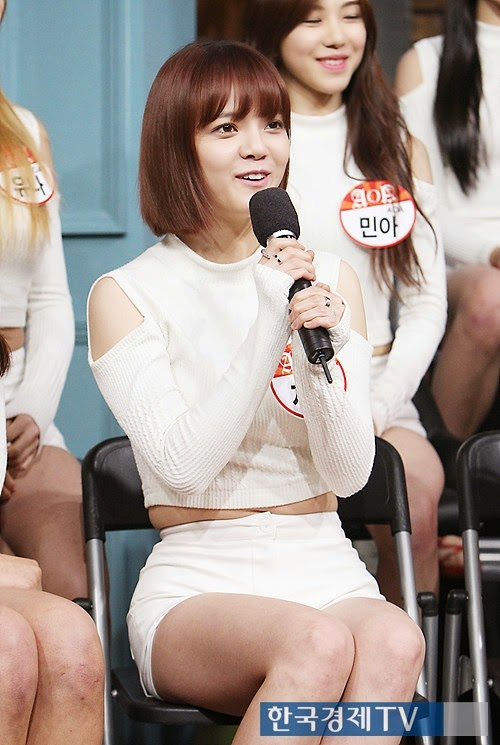 AOA Jimin's weight loss: before and after ~ K-Diet