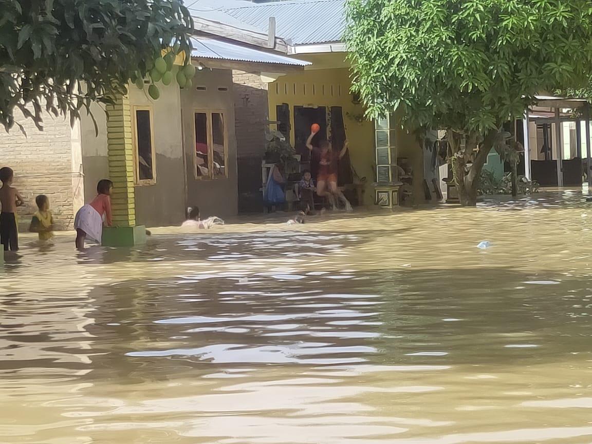 Dalam Seminggu,Tiga Kecamatan di Kota Tebingtinggi Dilanda Banjir Hingga Lima kali