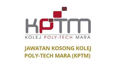 Jawatan Kosong KPTM 2019 Kolej Poly-Tech MARA